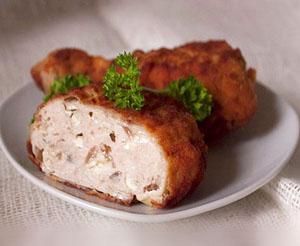 palneni butcheta gabi - Пълнени пилешки бутчета с гъби