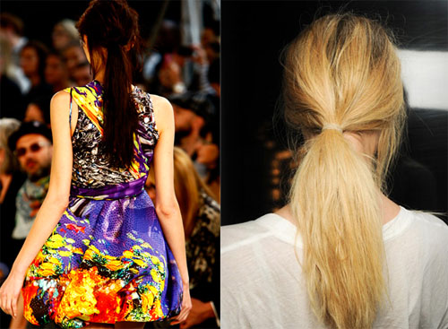 01 2 - Модните прически на пролет-лято 2012
