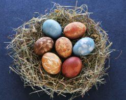 Как да боядисате и украсите яйцата за Великден