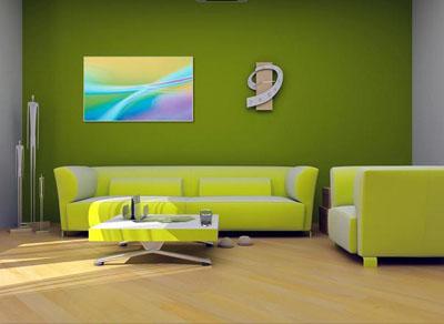 04zeleno - Интериор в ярки цветове!