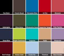 Цветова палитра за сезон есен-зима 2012/13. Основни цветове