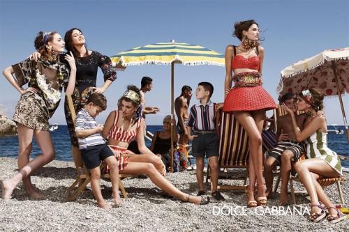 04 1Dolce Gabbana 500x333 - Пролет-лято 2013: Преглед на няколко рекламни кампании