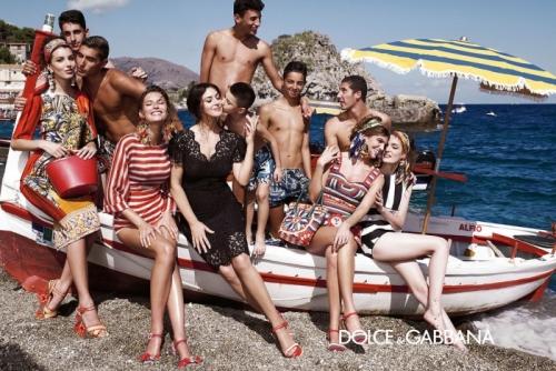 04 3Dolce Gabbana 500x334 - Пролет-лято 2013: Преглед на няколко рекламни кампании