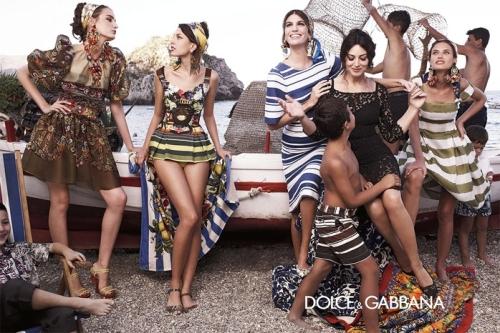 04 5Dolce Gabbana 500x333 - Пролет-лято 2013: Преглед на няколко рекламни кампании