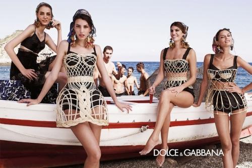 04 6Dolce Gabbana 500x333 - Пролет-лято 2013: Преглед на няколко рекламни кампании