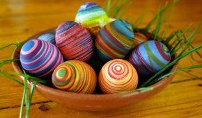 За да са великденските ви яйца красиви...
