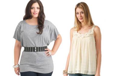 дрехи според формата на тялото