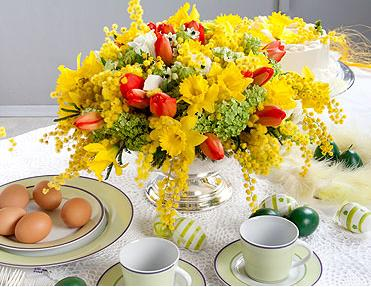 01cvetia - Как да украсите масата за Великден