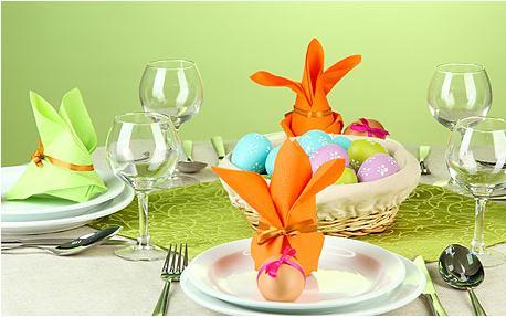 01salfetki - Как да украсите масата за Великден
