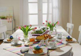 Как да подредите масата за Великден