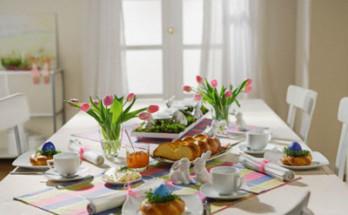 01vm 348x215 - Как да подредите масата за Великден