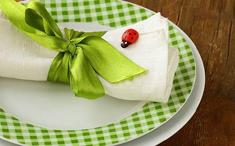03salfetka - Как да украсите масата за Великден