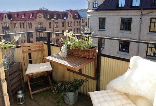 10 - Как да превърнете балкона в оазис за отдих