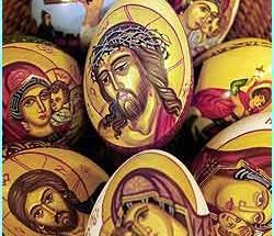 eggs bucharest 250x215 - Символиката на боядисаните великденски яйца