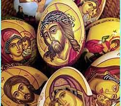 eggs bucharest 250x220 - Символиката на боядисаните великденски яйца