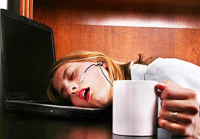 sleep at work - Как да се възстановим след нощен труд