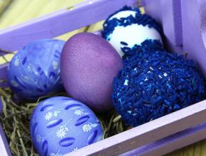 velikden qica koshnica 290x220 - 6 нестандартни идеи за украса на великденски яйца