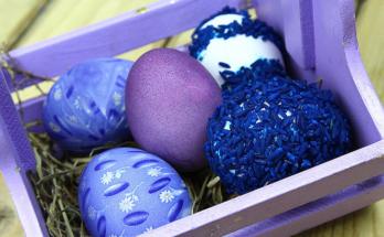 velikden qica koshnica 348x215 - 6 нестандартни идеи за украса на великденски яйца