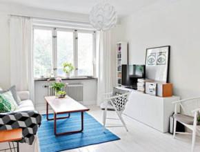 2 1 290x220 - Интериорен дизайн в скандинавски стил за малкото жилище