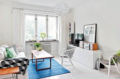 2 1 - Интериорен дизайн в скандинавски стил за малкото жилище