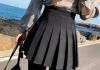pola visoka taliq 100x70 - Как се носи пола с висока талия - няколко съвета от звездите